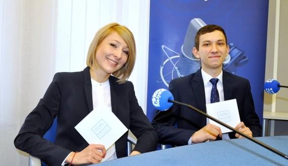 Marta Brzozowska i Przemysław Stolarski, fot. Marcin Mazewski