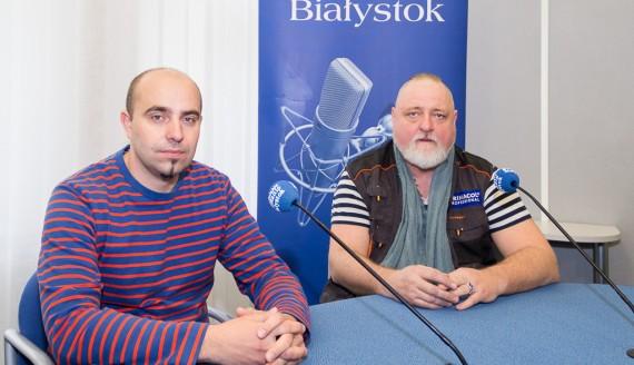 Mariusz Sokołowski i Rafał Roskowiński, fot. Monika Kalicka
