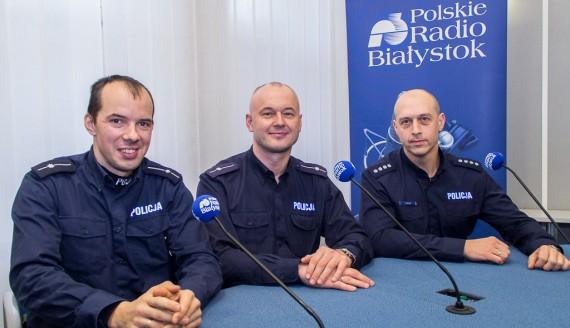 Krzysztof Ciszyński, Wojciech Kosikowski i Tomasz Krupa, fot. Monika Kalicka