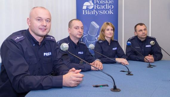 Marcin Klimczak, Joanna Rzepniewska, Wojciech Kosikowski i Adam Romanowicz