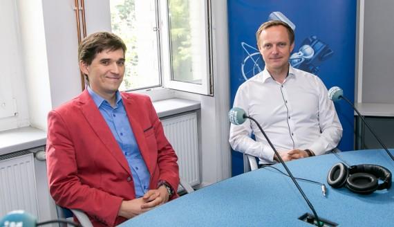 prof. Karol Kamiński i prof. Marcin Moniuszko, fot. Joanna Żemojda