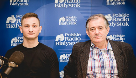 Damian Dąbrowski i Jerzy Tokajuk, fot. Joanna Szubzda