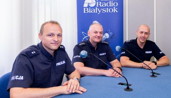 Tomasz Waszczuk, Robert Żukowski i Tomasz Krupa, fot. Monika Kalicka