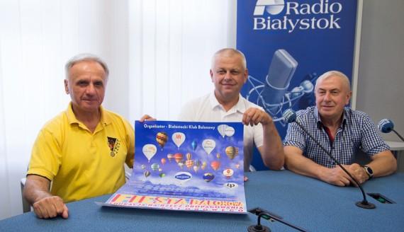 Andrzej Ćwikła, Andrzej Konstańczuk i Jerzy Czerniawski, fot. Sylwia Krassowska