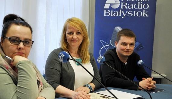 Aneta Gałaburda, Dorota Sokołowska i Kamil Kalicki, fot. Marcin Mazewski