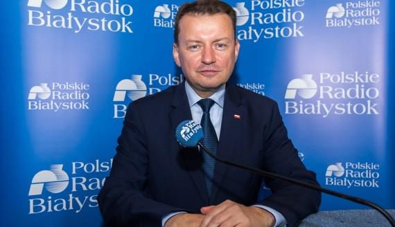 Mariusz Błaszczak, fot. Monika Kalicka