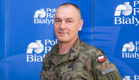 płk Sławomir Kocanowski, fot. Joanna Szubzda