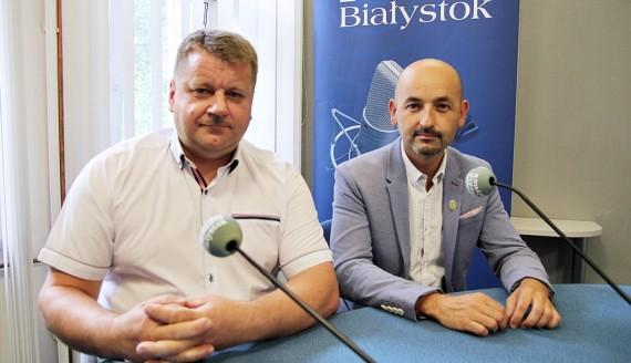 Robert Wardziński i Ireneusz Jabłoński, fot. Sylwia Krassowska