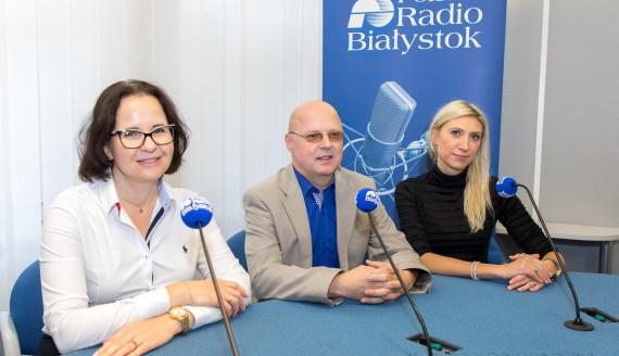 Anna Tankiewicz- Kwedlo, Dariusz Pawlak i Justyna Hermanowicz, fot. Monika Kalicka