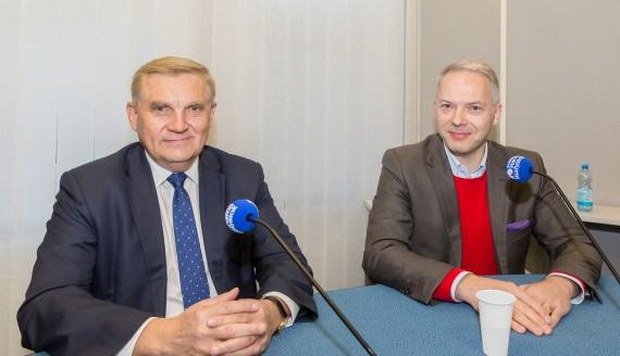 Tadeusz Truskolaski i Jacek Żalek, fot. Monika Kalicka