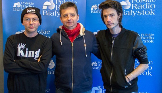 Łukasz Gorczyca, Arek Kłusowski i Jack Moore, fot. Monika Kalicka