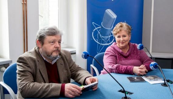 prof. Stanisław Kuk i prof. Violetta Bielecka, fot. Joanna Szubzda
