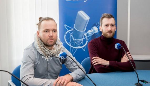 Łukasz Szczepański i Lucjan Sawicki, fot. Joanna Szubzda