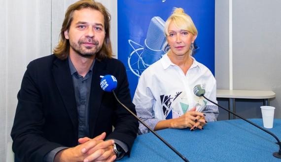 Barbara Sarna i Janusz Grycel, fot. Monika Kalicka