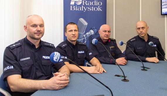 Wojciech Kosikowski, Sławomir Sacharczuk, Krzysztof Skalimowski i Tomasz Krupa, fot. Monika Kalicka