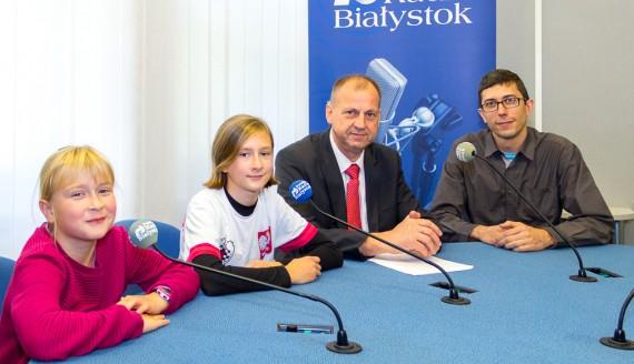 Leszek Zega, Tomasz Jarocki, Julia i Anna Dallemura, fot. Monika Kalicka