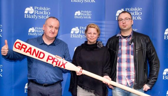 Agnieszka Mackiewicz, Jacek Bartnicki i Robert Jankowski, fot. Joanna Żemojda