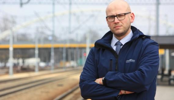 Karol Jakubowski, źródło: PKP Polskie Linie Kolejowe S.A.
