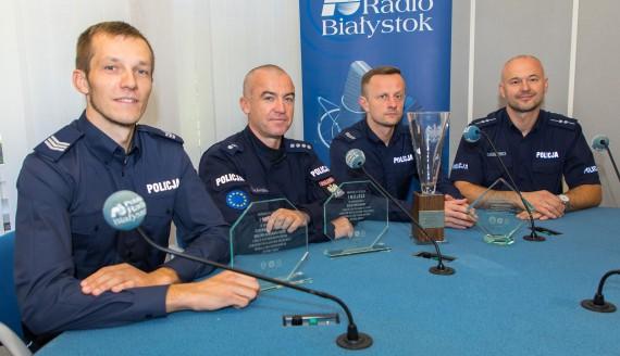 Emil Kalinowski, Maciej Zakrzewski, Wojciech Marcinkiewicz i Wojciech Kosikowski, fot. Monika Kalicka