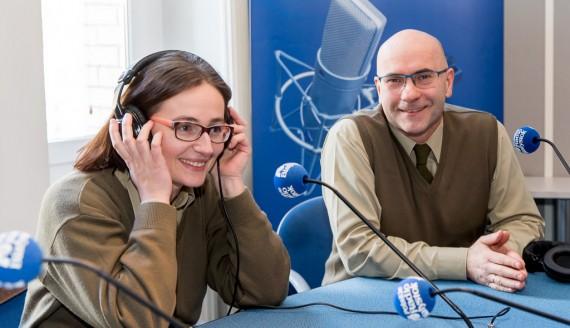 Maria Nowicka-Szpakowicz i Jarosław Krawczyk, fot. Joanna Szubzda