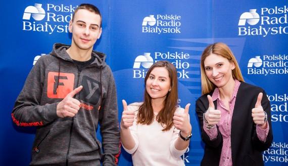Paweł Głowacki, Paulina Doliwa i Cecylia Lola-Gołembiewska, fot. Joanna Szubzda