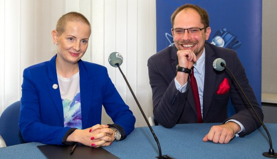Justyna Mnich i Marcin Sawicki, fot. Monika Kalicka