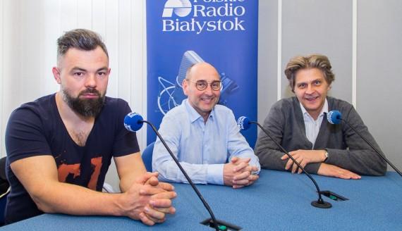Piotr Szekowski, Sławomir Popławski i Marek Gierszał, fot. Monika Kalicka