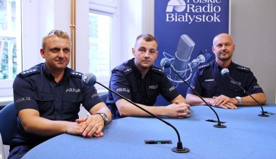 Karol Witkowski, Artur Sznajderuk, Wojciech Kosikowski, fot. Marcin Gliński