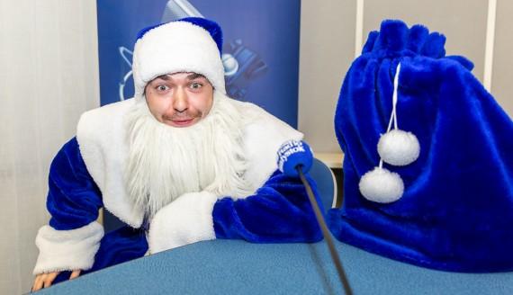 Niebieski Mikołaj Radia Białystok, fot. Monika Kalicka