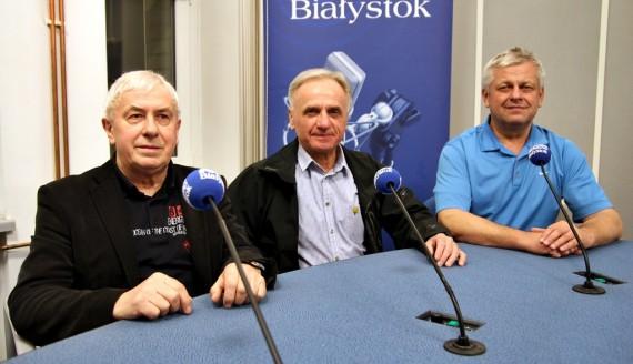 Jerzy Czerniawaski, Andrzej Ćwikła i Andrzej Konstańczuk, fot. Sylwia Krassowska