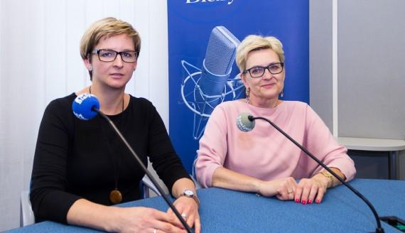 Małgorzata Żendzian-Piotrowska i Michalina Krzyżak, fot. Monika Kalicka