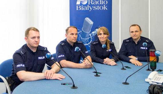 Marcin Bareła, Mariusz Hołub, Edyta Wilczyńska i Tomasz Waszczuk, fot. Monika Kalicka