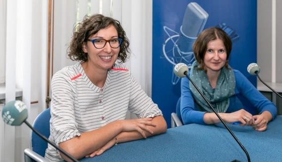 Agata Papierz i Bogumiła Maleszewska, fot. Joanna Żemojda