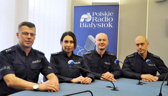 Dariusz Matynka, Marta Gierłachowska, Wojciech Kosikowski i Tomasz Krupa, fot. Marcin Mazewski
