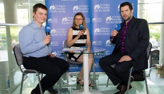 Agnieszka Rehlis, Dawid Beucher i Kamil Kalicki, fot. Monika Kalicka