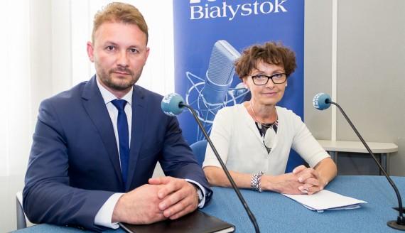 Grażyna Pawelec i Cezary Nowosielski, fot. Monika Kalicka