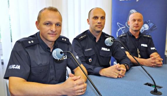 Tomasz Waszczuk, Tomasz Prochowicz, Wojciech Kosikowski, fot. Sylwia Krassowska