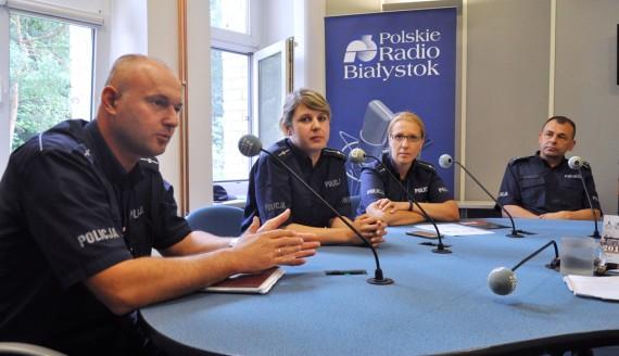 Wojciech Kosikowski, Agata Perek, Marlena Połowianiuk, Adam Romanowicz, fot. Marcin Gliński