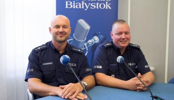 Wojciech Kosikowski i Radosław Antoszczuk, fot. Sylwia Krassowska