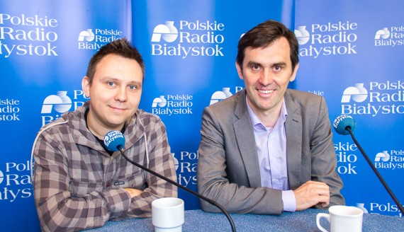 Hubert Buharewicz i Krzysztof Szubzda, fot. Monika Kalicka
