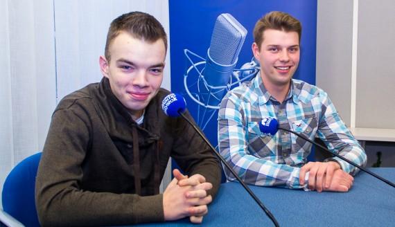 Jakub Laskowski i Damian Anikiej, fot. Monika Kalicka