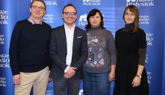 Paweł Pecuszok, Przemysław Kummer, Marta Wróblewska, Aleksandra Pawluczuk, fot. Marcin Gliński