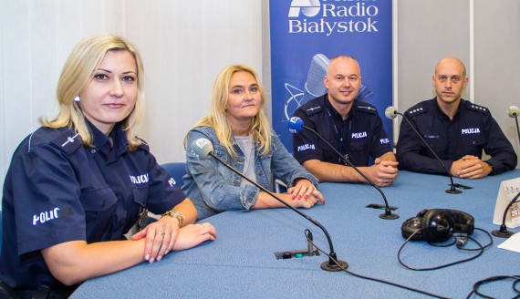Joanna Garwolińska, Bernadetta Niemyńska, Wojciech Kosikowski i Tomasz Krupa, fot. Monika Kalicka
