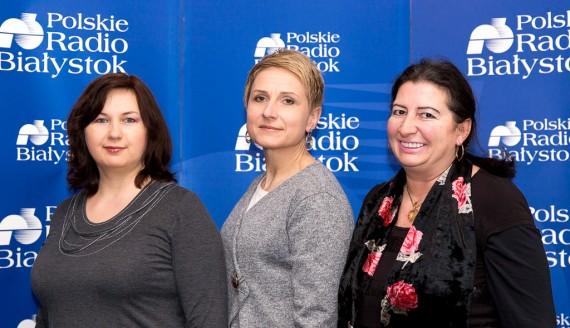 dr Marta Wróblewska, dr Urszula Iżbicka i Małgorzata Bielicka, fot. Joanna Szubzda