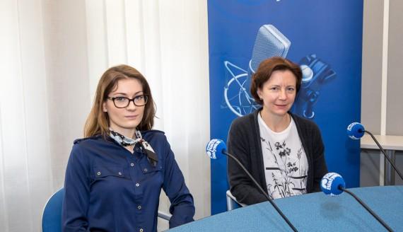 Anna Borysiewicz i dr Ewa Stankiewicz, fot. Joanna Szubzda