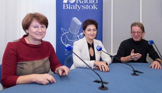 Janina Mironowicz, Aneta Andruszkiewicz i Wojciech Winogrodzki, fot. Monika Kalicka