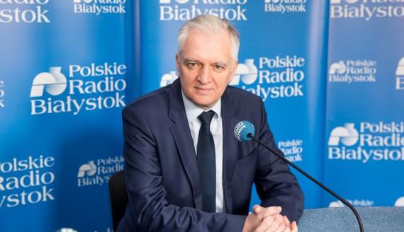 Jarosław Gowin, fot. Joanna Szubzda