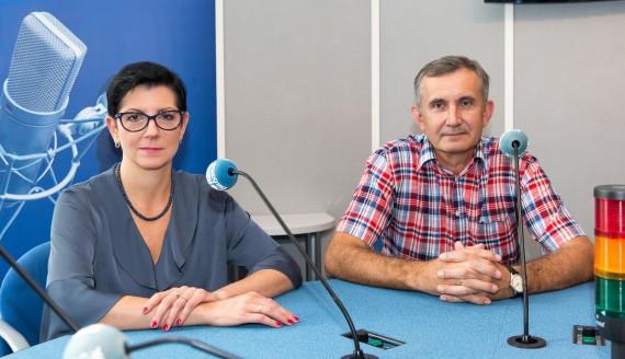 dr hab. Ewa Sierko i dr n. med. Jarosław Łuczaj, fot. Joanna Szubzda