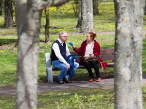 Mariusz Szczygieł i Joanna Sikora, fot. Joanna Żemojda