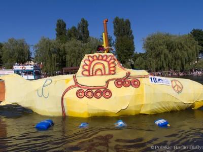 Yellow Submarine, XX Mistrzostwa Polski w Pływaniu na Byle Czym, fot. Joanna Żemojda
